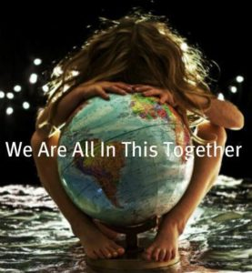 We are all in this together...